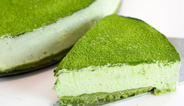 Cheesecake de matcha 3