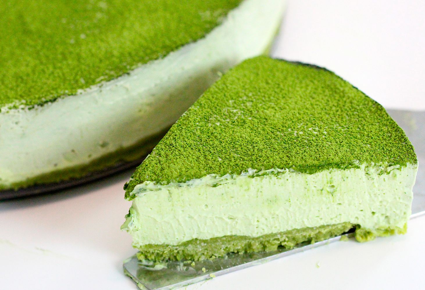 Cheesecake de matcha 1