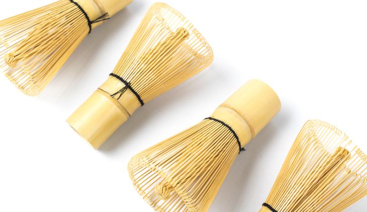 Batidor de bambú Chasen (100 varillas) 1