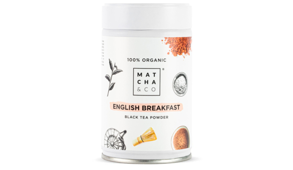 Té English Breakfast en polvo