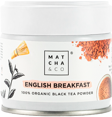 bote té negro english breakfast