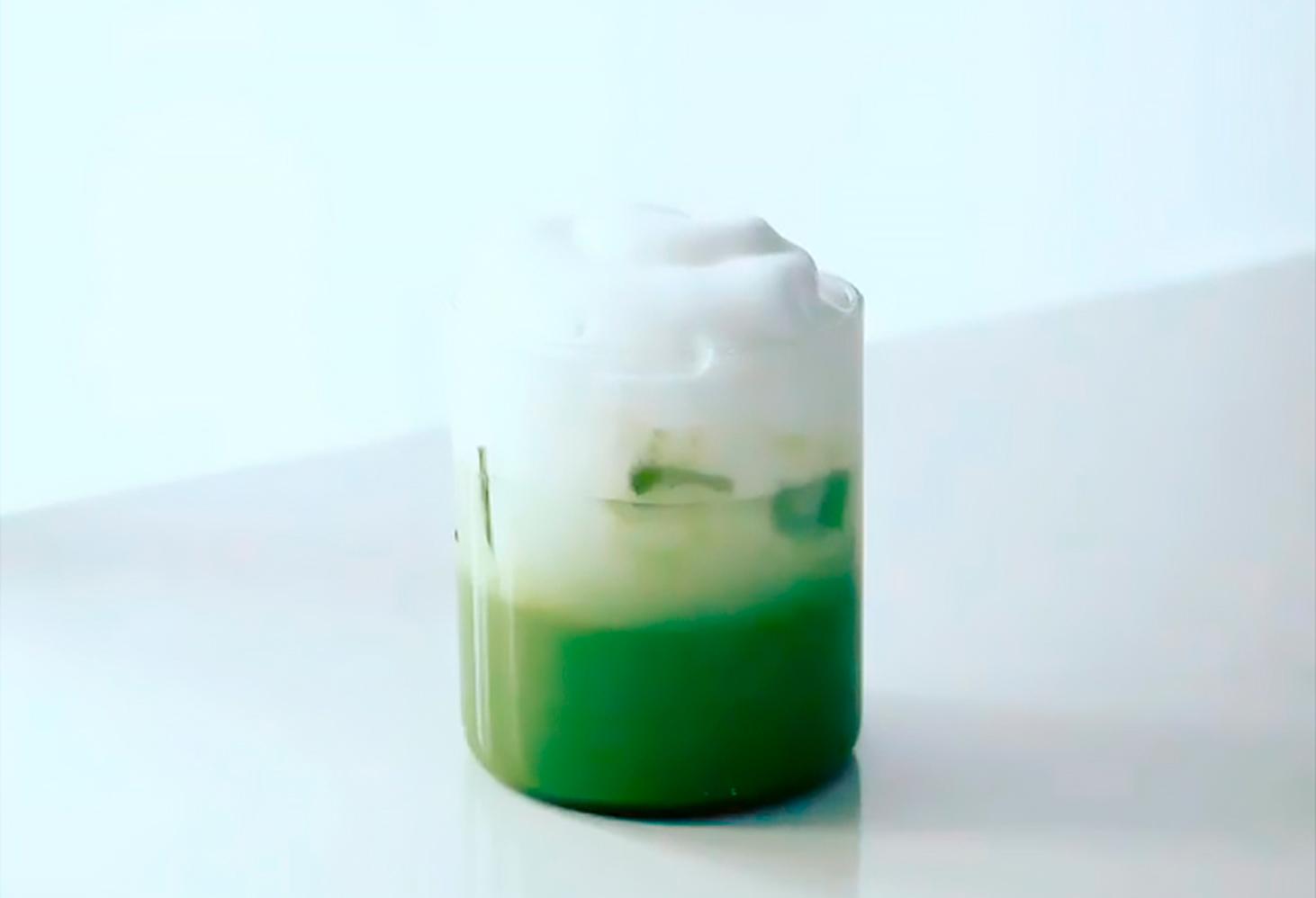 Matcha latte 3