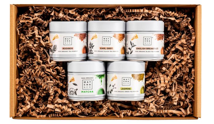 Set 5 variedades té 1