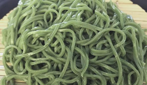 Noodles de matcha 9